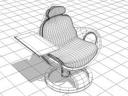 工作空间座椅设计