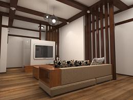 小型居室设计(日式)