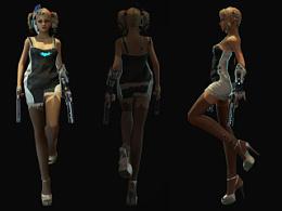 次时代游戏模型—BatGirl