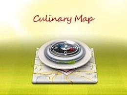 美食地图UI设计