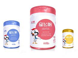 极简-多彩-飞鹤星飞帆产品包装设计