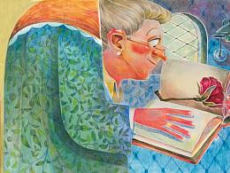 安徒生童话故事书插图绘制步骤