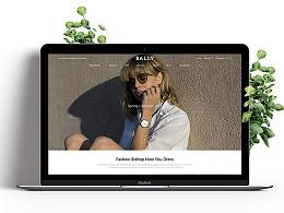BALLY  WEB DESIGN
