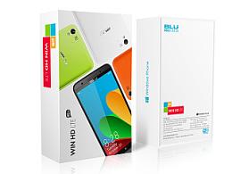 WIN HD LTE智能手机包装设计