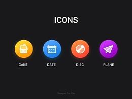 icon 补习