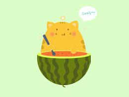 没有西瓜的夏天是不完整的!