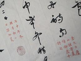 凇菱书章草-李太白《庐山谣》寄卢侍御虚舟诗句3