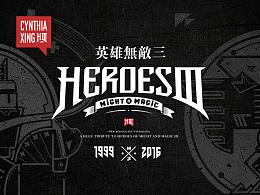 英雄无敌3墓园城系列角色插画
