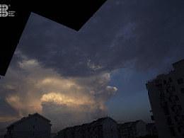新手拍北京的云天