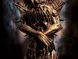 克苏鲁雕像完工