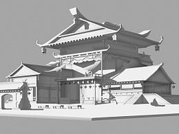 中国风单体建筑设计
