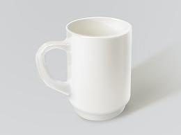 白瓷杯 小练习