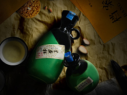电商白酒类-新品首发页面-揭秘松子