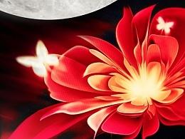 中秋节海报Happy Mid-Autumn Festival