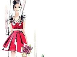 《悦己SELF》2014八月号 水彩插画