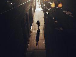 街头光与影