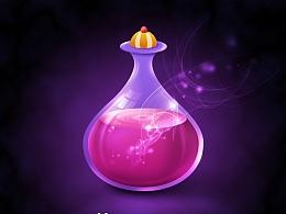 临摹作品--魔法瓶