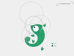 小青龙爱宠物logo标志