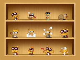 洛猫系列表情-卡洛