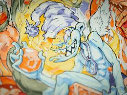 《梦》——NILone原创手绘插画作品