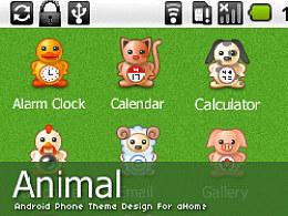"android手机主题设计""Animal"""