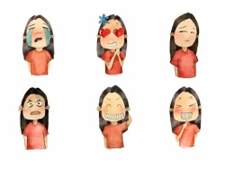 表情少妇-表情插画,素材搜索,设计素材下载-图片图片a表情大全包图片