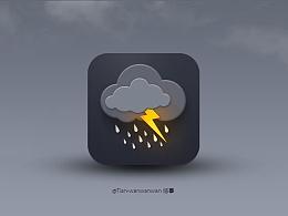 【icon临摹】心情阴成雨~