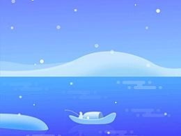 天气插画/春夏秋冬/天气动画
