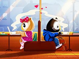 Olly猫头鹰情人节特辑—My Valentine's Day