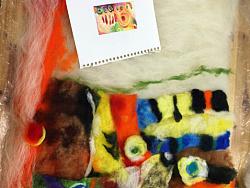 羊毛毡作业