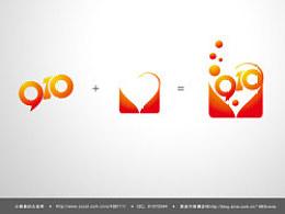 中央电视台文化部9.10教师节晚会片头定版字和logo设计