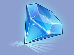 游戏UI之书宝石标教程1