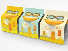 正昱设计 食品包装设计 休闲花生系列