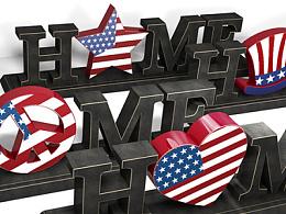 c4d美国精品摆饰设计(公司产品)