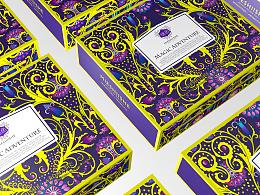 魔法奇遇系列 包装设计