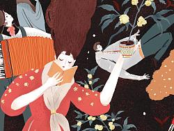"""遇见好茶与韵画----""""与自己对话""""包装设计"""