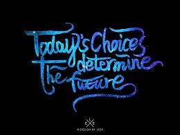 """""""今天的选择决定未来""""第二弹"""