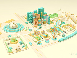 MINI CITY 白无常电商课程 毕业设计