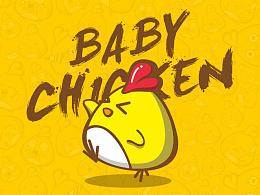 BABY鸡卡通形象