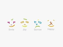 字型定制|重組小表情