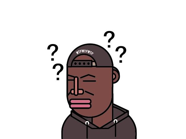 黑人h动漫_黑人带三个问号的表情分享展示