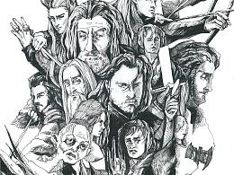 速写  霍比特人@魔戒 The Lord of the Rings&The Hobbit 20151