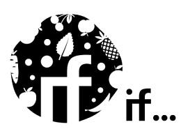 心茹的果汁店logo