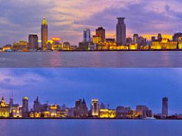 上海外滩全景