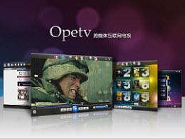 Opetv-跨媒体互联网电视界面设计