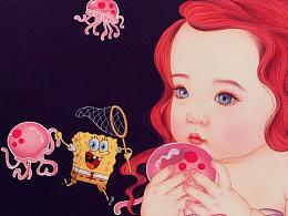 《水母田的小美人鱼》