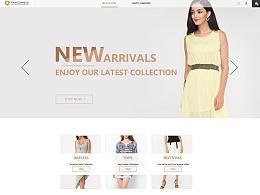 电商网页界面设计