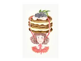 [水彩twee]少女和甜品