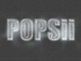 POPsii字体实验室