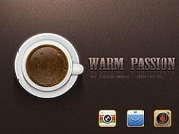 WARMPASSION--首届百度云・手机主题设计大赛